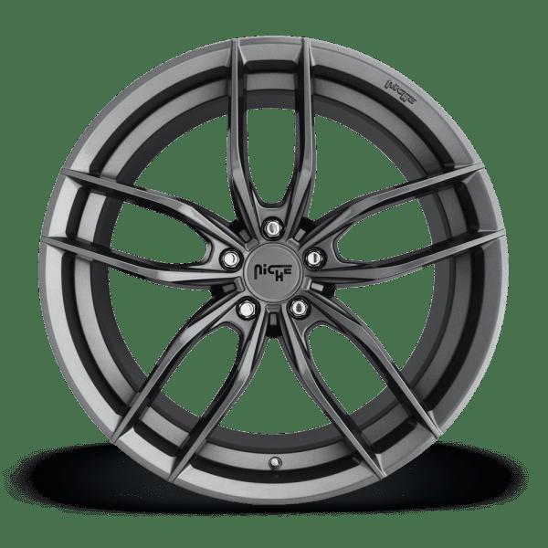 niche vosso anthracite concave wheels rims