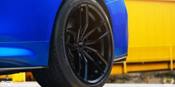 niche vosso satin black concave wheels rims