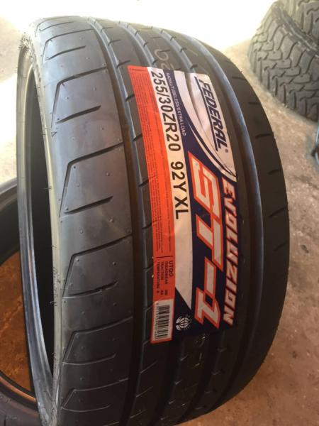 federal evoluzion st-1 st1 high performance traction