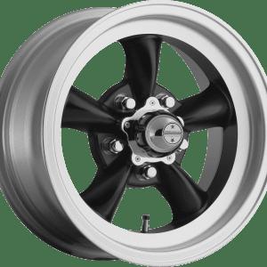 american racing vn105 torq thrust wheels rims satin black machined