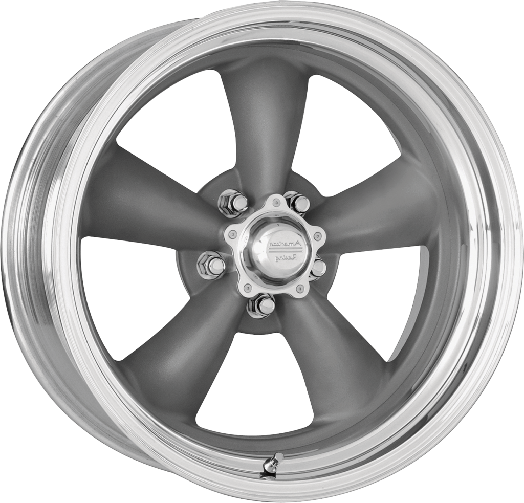 18 Inch American Racing Vn215 Torq Thrust Ii Grey Purnell Tyres