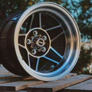 performance challenger black machined wheels globe bathurst muscle drag cars