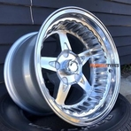 dragster polished wheels convo pro center line style drag muscle cars