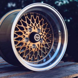 performance formula wheels mesh dish gold black drag muscle car