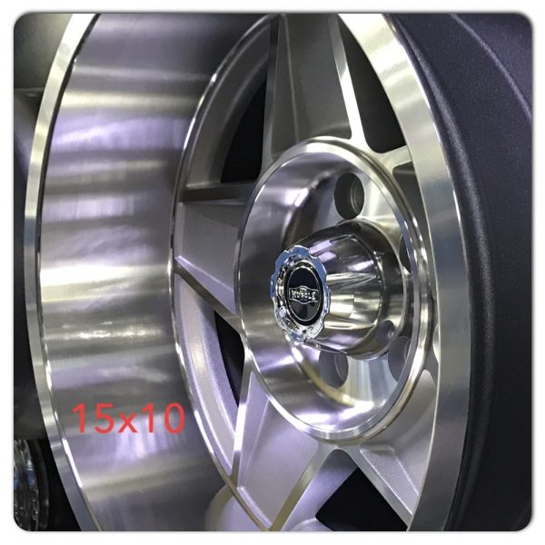 globe bathurst silver machined wheels drag muscle car
