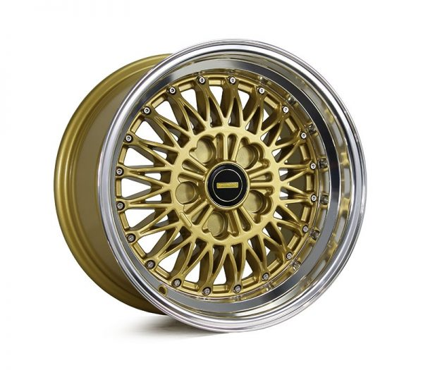 simmons v51 silver gold dish mesh wheels drag muscle car