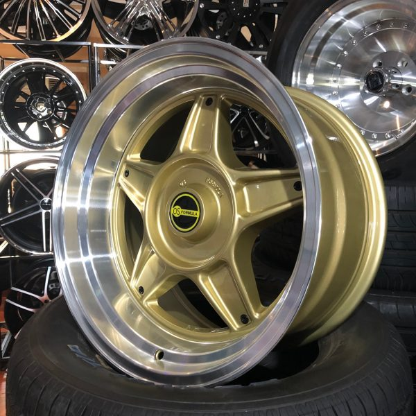 pt pt45 simmons b45 5 spoke deep dish old school muscle drag wheels