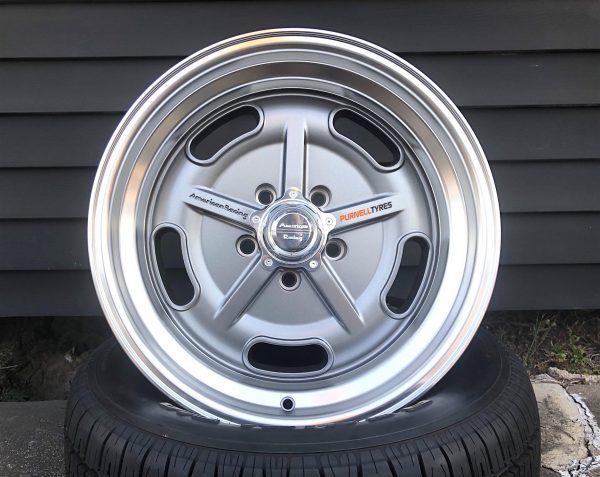 american racing vn511 salt flat wheels muscle drag cars old school