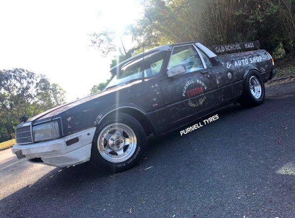 pt prostar wheels muscle car drag old school mags deep dish