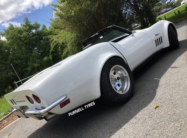 pt draglite wheels polished old school muscle car