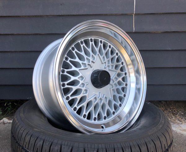 os formula mesh wheels deep dish jdm old school