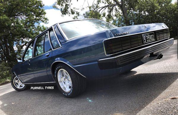 "15"" silver globes zk fairlane old school muscle car wheels"