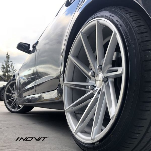inovit turbine silver machined concave wheels