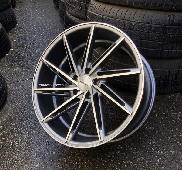 inovit turbine gunmetal machined concave wheels