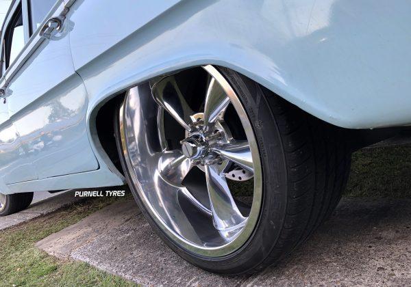 showwheels streeter polished wheels old school vintage muscle drag wheels
